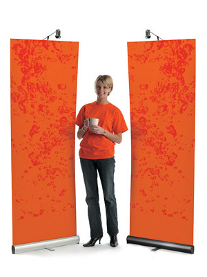 POD Roller Banner Stand